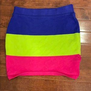 Dresses & Skirts - Multi color mini skirt
